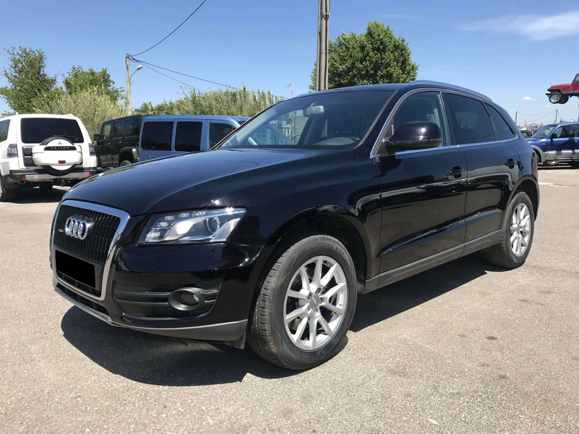 audi q5 3 0 tdi v6 240 ch ambition luxe s tronic quattro de 2010 voir dans les bouches du. Black Bedroom Furniture Sets. Home Design Ideas