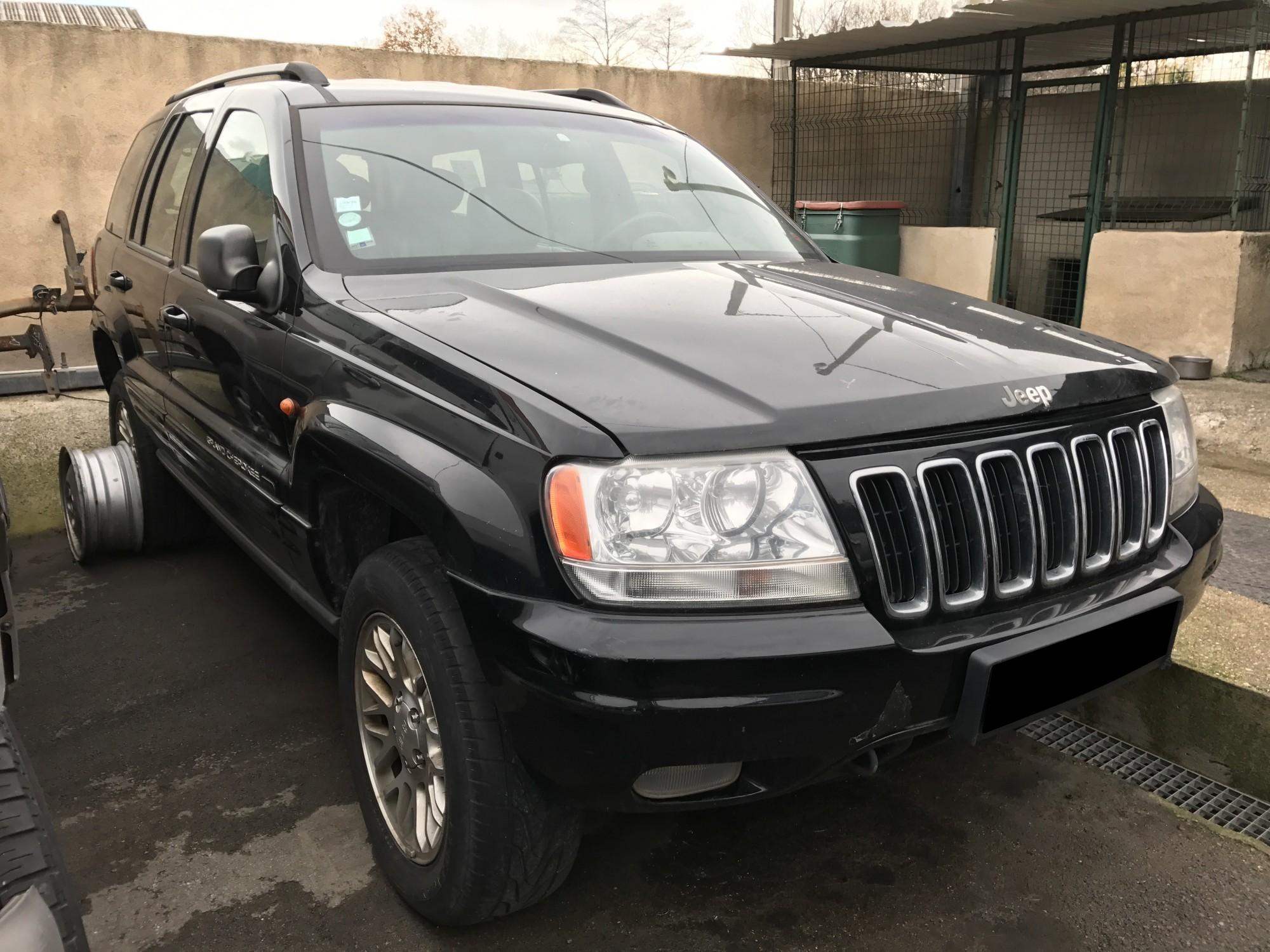 pi ces d tach es pour jeep grand cherokee 2 7 crd 163 ch limited auto de 2002 4x4 occasion. Black Bedroom Furniture Sets. Home Design Ideas