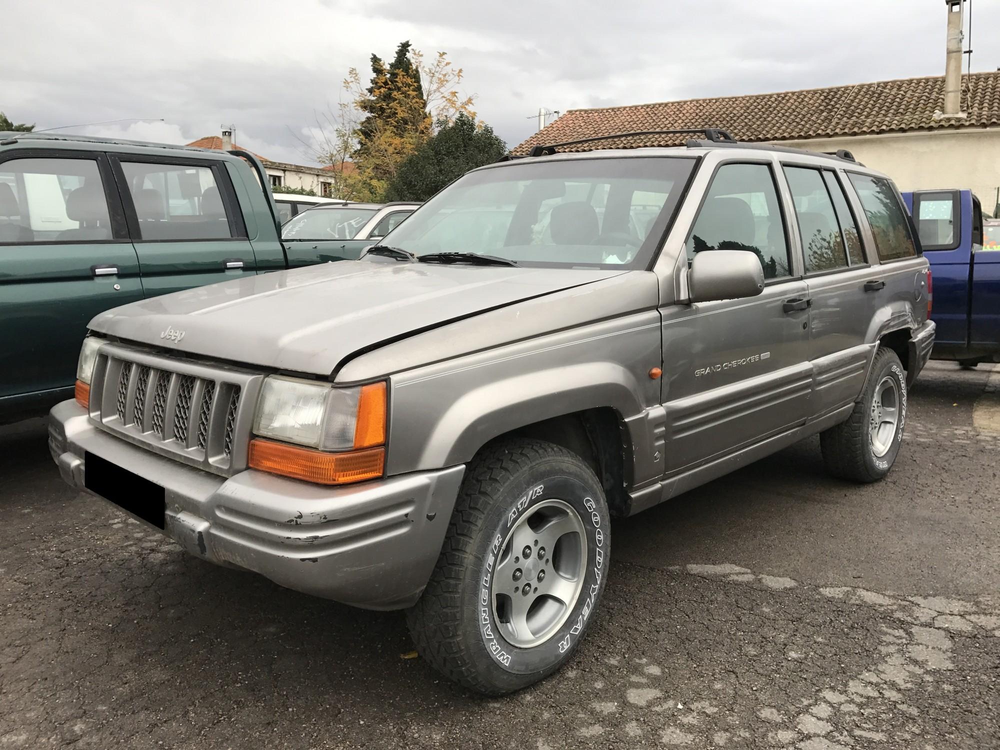 pi ces d tach es pour jeep grand cherokee 2 5 td 115 ch de 1997 4x4 occasion pro fun 4x4. Black Bedroom Furniture Sets. Home Design Ideas