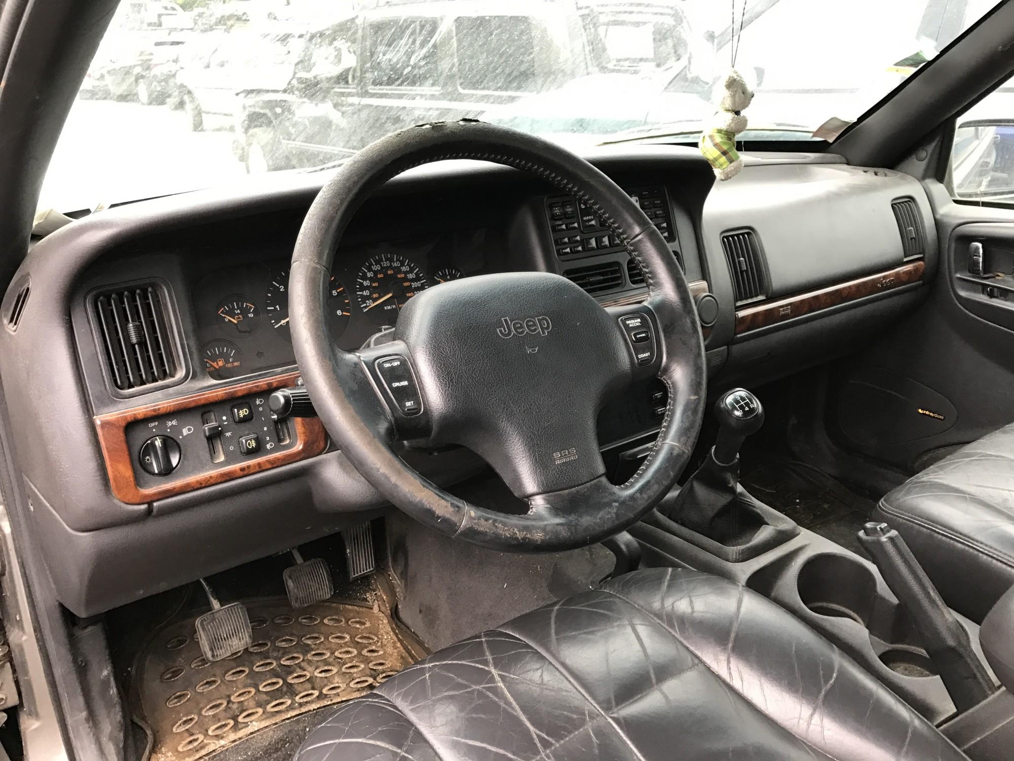 pi ces d tach es pour jeep grand cherokee 2 5 td 115 ch limited de 1997 4x4 occasion pro fun 4x4. Black Bedroom Furniture Sets. Home Design Ideas