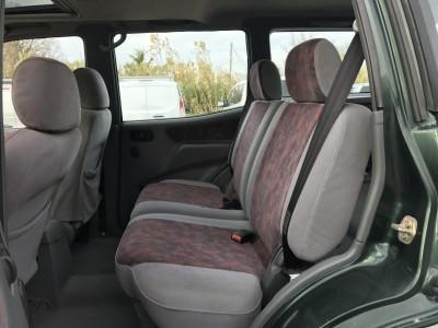 Sièges arrière gris rouge Nissan Terrano 1998 - pro fun 4x4