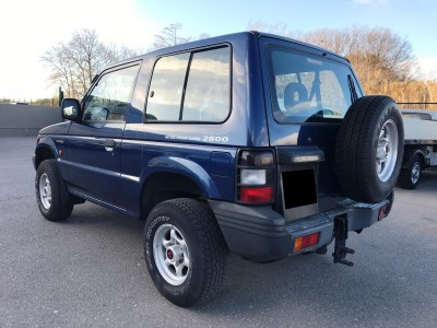 Roue de secours Mitsubishi Pajero 1999 - pro fun 4x4
