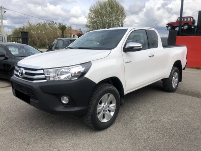 Pick Up Toyota Hilux 2017 2.4 D-4D 150 ch - pro fun 4x4