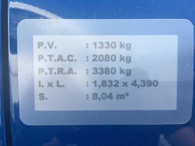 Opel Combo surélevé - pro fun 4x4