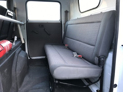 Banquette arrière Renault Maxity 6 places double cabine 2012 - pro fun 4x4