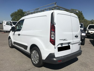 Fourgon Camion Utilitaire Ford Transit Connect 1.6 TDCi galerie protection bois - pro fun 4x4