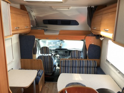 camping car ford transit 2 4 tdci 140 ch chausson welcome. Black Bedroom Furniture Sets. Home Design Ideas