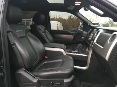 Ford F150 noir de 2012 siège en cuir - Montpellier - pro fun 4x4