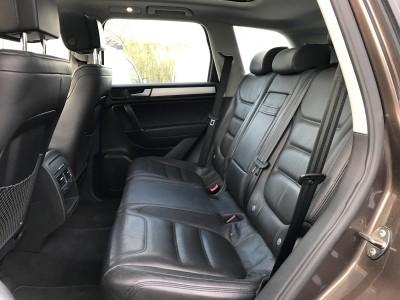 Banquette arrière en cuir noir Volkswagen Touareg 3.0 V6 Carat Edition 2012 - pro fun 4x4