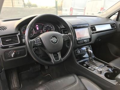 Tableau de bord Volkswagen Touareg 3.0 V6 TDi 240 ch Carat Edition 2012 - pro fun 4x4