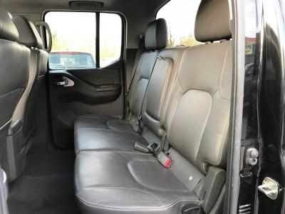 Banquette arrière cuir Nissan Navara King Cab 2013 - pro fun 4x4