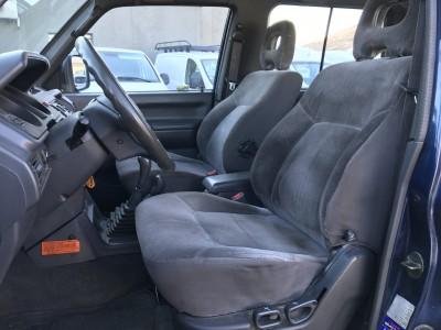 Sièges avant Mitsubishi Pajero 3 portes 2.8 TD Turbo - pro fun 4x4