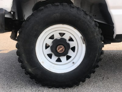 Jantes 15 Pouces blanche pour Nissan Patrol - pro fun 4x4