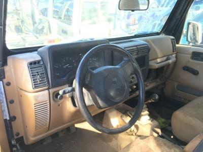 Intérieur Jeep Wrangler 1997 - pro fun 4x4