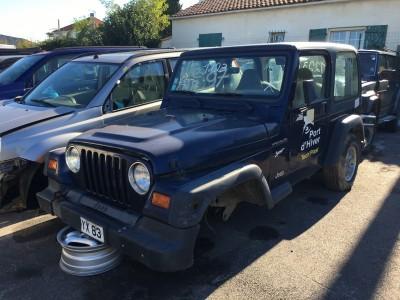 Pièces détachées pour Jeep Wrangler 2.5 de 1997 - pro fun 4x4